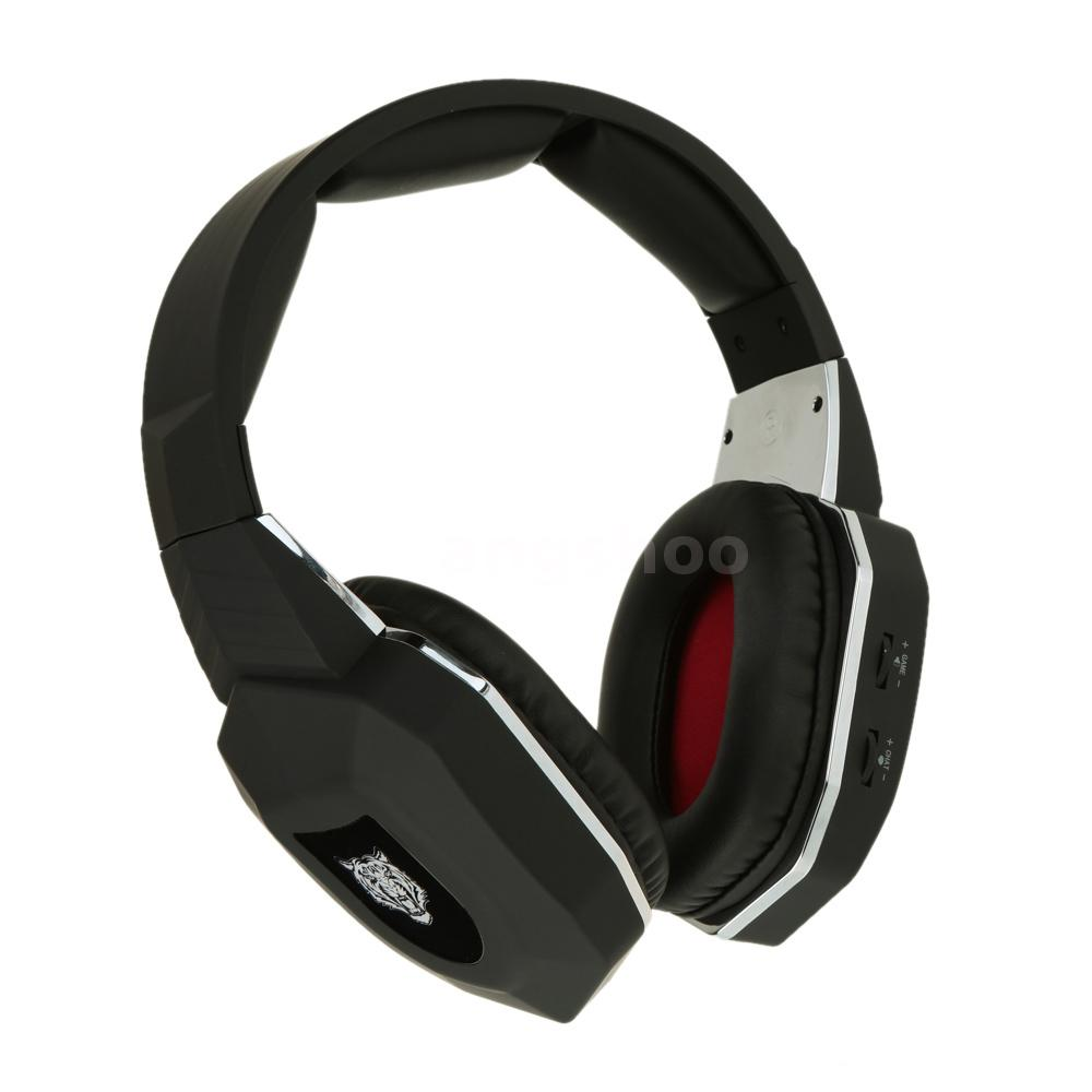 2.4GHz Stereo Wireless Pro Gaming Headset Headphones for